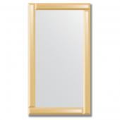 Зеркало с зеркальным обрамлением (бронза) 50х90 см. Серия V-1.
