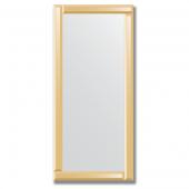 Зеркало с зеркальным обрамлением (бронза) 50х110 см. Серия V-1.