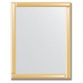 Зеркало с зеркальным обрамлением (бронза) 70х90 см. Серия V-1.