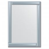 Зеркало с зеркальным обрамлением (графит) 50х70 см. Серия V-1.