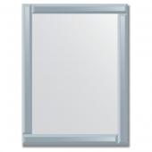 Зеркало с зеркальным обрамлением (графит) 60х80 см. Серия V-1.