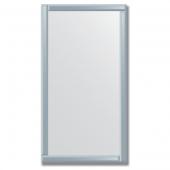 Зеркало с зеркальным обрамлением (графит) 70х130 см. Серия V-1.