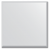 Зеркало настенное 60х60 см с фацетом 15мм.