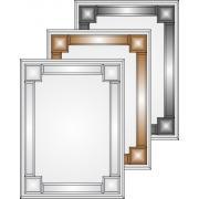 Зеркала с обрамлением. Серия V-2