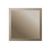 Зеркальная плитка с фацетом 10 мм (бронза) (квадрат 15х15 см)