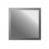 Зеркальная плитка с фацетом 10 мм (графит) (квадрат 15х15 см)