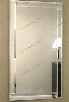 Зеркало с серебряным обрамлением. Серия V-1. Под заказ в Гомеле.
