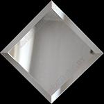 Зеркальная плитка с фацетом 15 мм.