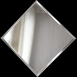 Зеркальная плитка с фацетом 5 мм.