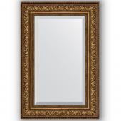 Зеркало настенное 60х90 см в багетной раме - виньетка состаренная бронза 109 мм.