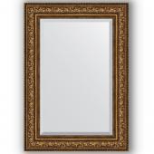 Зеркало настенное 70х100 см в багетной раме - виньетка состаренная бронза 109 мм.