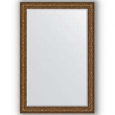 Зеркало настенное 120х180 см в багетной раме - виньетка состаренная бронза 109 мм.