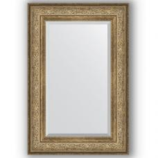 Зеркало настенное 60х90 см в багетной раме - виньетка античная бронза 109 мм.