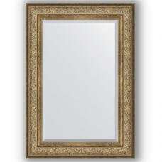 Зеркало настенное 70х100 см в багетной раме - виньетка античная бронза 109 мм.