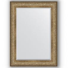 Зеркало настенное 80х110 см в багетной раме - виньетка античная бронза 109 мм.