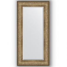 Зеркало настенное 60х120 см в багетной раме - виньетка античная бронза 109 мм.