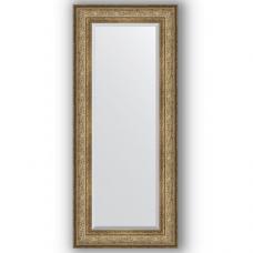 Зеркало настенное 60х140 см в багетной раме - виньетка античная бронза 109 мм.