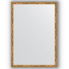 Зеркало настенное 47х67 см в багетной раме - золотой бамбук 24 мм.