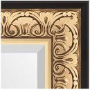 Зеркала в багете барокко золото 106 мм