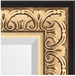 Зеркала в багете – барокко золото 106 мм.