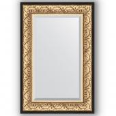 Зеркало настенное 60х90 см в багетной раме - барокко золото 106 мм.