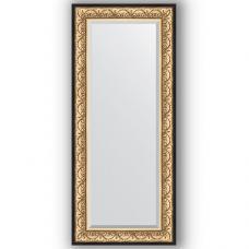Зеркало настенное 65х150 см в багетной раме - барокко золото 106 мм.