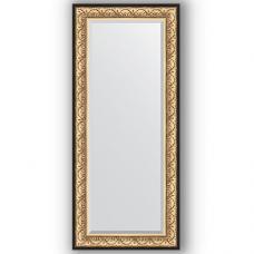 Зеркало настенное 70х160 см в багетной раме - барокко золото 106 мм.