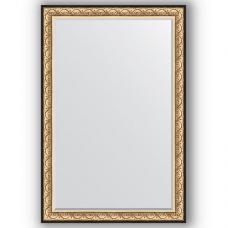 Зеркало настенное 120х180 см в багетной раме - барокко золото 106 мм.