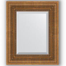 Зеркало настенное 47х57 см в багетной раме - бронзовый акведук 93 мм.