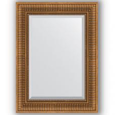 Зеркало настенное 57х77 см в багетной раме - бронзовый акведук 93 мм.