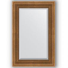 Зеркало настенное 57х87 см в багетной раме - бронзовый акведук 93 мм.