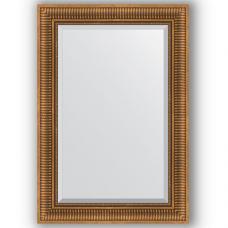 Зеркало настенное 67х97 см в багетной раме - бронзовый акведук 93 мм.