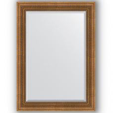 Зеркало настенное 77х107 см в багетной раме - бронзовый акведук 93 мм.