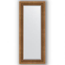 Зеркало настенное 57х137 см в багетной раме - бронзовый акведук 93 мм.