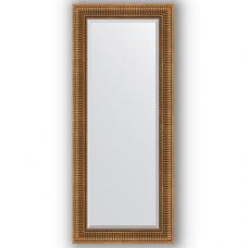 Зеркало настенное 62х147 см в багетной раме - бронзовый акведук 93 мм.