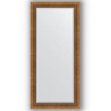 Зеркало настенное 77х167 см в багетной раме - бронзовый акведук 93 мм.