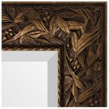 Зеркала в багете – византия бронза 99 мм.