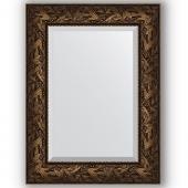 Зеркало настенное 59х79 см в багетной раме - византия бронза 99 мм.