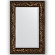 Зеркало настенное 59х89 см в багетной раме - византия бронза 99 мм.