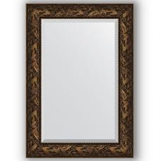 Зеркало настенное 69х99 см в багетной раме - византия бронза 99 мм.