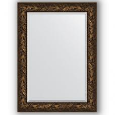 Зеркало настенное 79х109 см в багетной раме - византия бронза 99 мм.