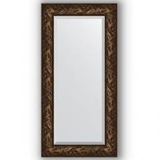 Зеркало настенное 59х119 см в багетной раме - византия бронза 99 мм.