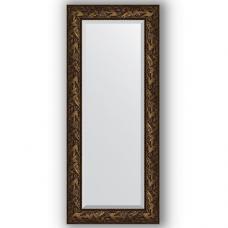 Зеркало настенное 59х139 см в багетной раме - византия бронза 99 мм.
