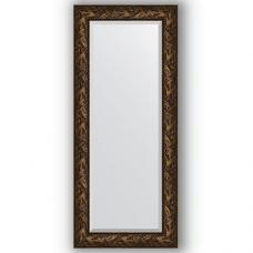 Зеркало настенное 64х149 см в багетной раме - византия бронза 99 мм.