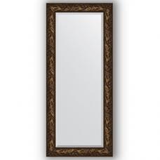 Зеркало настенное 69х159 см в багетной раме - византия бронза 99 мм.
