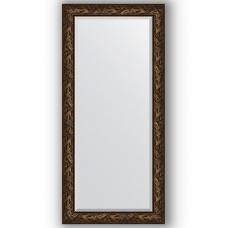 Зеркало настенное 79х169 см в багетной раме - византия бронза 99 мм.