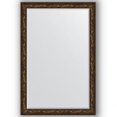 Зеркало настенное 119х179 см в багетной раме - византия бронза 99 мм.
