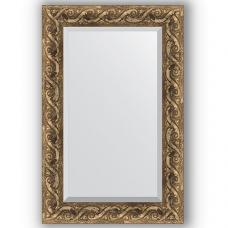 Зеркало настенное 56х86 см в багетной раме - фреска 84 мм.