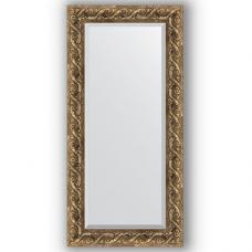 Зеркало настенное 56х116 см в багетной раме - фреска 84 мм.