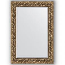 Зеркало настенное 66х96 см в багетной раме - фреска 84 мм.